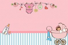 Baby birth, birth gift, baby shawer, new baby products, christening invitat Tarjetas Baby Shower Niña, Imprimibles Baby Shower, Baby Shower Invitaciones, Free Printable Invitations, Baby Invitations, Free Printables, Baby Shawer, Baby Birth, Christening Invitations Girl
