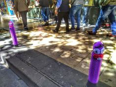 Trancas y Barrancas. Intervenciones callejeras y efímeras que te puedes encontrar paseando por las calles de #Zaragoza
