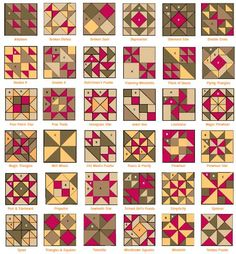 "This quilt pattern is made using an Accuquilt cutter.  Click on ""Accuquilt Idea Sheet"" at the bottom of the page to see the dimensions of each piece for 3 different quilt block sizes.  This quilt could also be done with paper piecing."