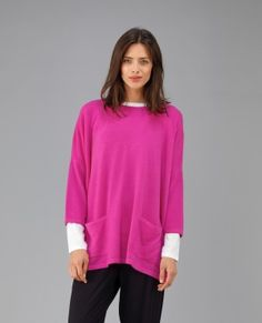 Pocketed Lottie Cashmere Tunic at 19 Beauchamp Place, Knightsbridge London until 10th December
