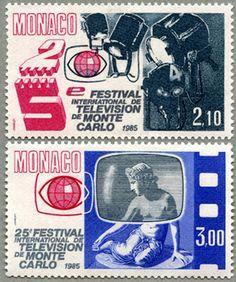 Stamp Monaco 1984