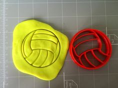 If you have a custom shape or logos in mind please contact us for your unique custom orders. This listing is for Volleyball Cookie Cutter, You can select your own size. Great size to make cookies for Volleyball Cookies, Volleyball Team Gifts, Volleyball Skills, Volleyball Birthday Party, How To Make Cookies, Biodegradable Products, Cookie Cutters, Etsy, Sell Stuff