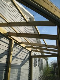Plexiglass roof