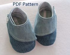 EMBRACE Baby and Toddler Shoe Pattern PDF por waterandspiritdoula