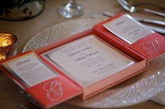 Boxed Invitation Suites///www.annmeyersignatureevents.com