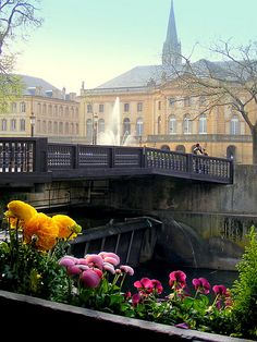 wooden bridge and the theater, Metz, Lorraine, France Places Around The World, Oh The Places You'll Go, Places To Visit, Around The Worlds, Metz France, Wonderful Places, Beautiful Places, Lorraine France, Culture Of France