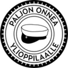 FinnStamper-leimasin Paljon Onnea Ylioppilaalle - FinnStamper.com Happy Day, Logos, Logo