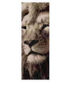 Peyote Bracelet Pattern - King of the Pride (Buy 2 Patterns - get a 3rd. Pattern FREE)