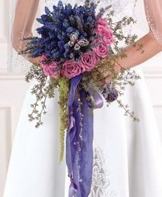 ... , White Cinbidium Orchids and Ruscus Bridal Bouquet - COST: $119.00, 360x360 in 26.2KB