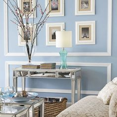 Silver Mirrored Nightstand And In My Life On Pinterest