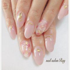Cute Nail Art, Cute Nails, Lilac Nails Design, Matted Nails, Korean Nail Art, Auryn, Kawaii Nails, Almond Acrylic Nails, Nails First