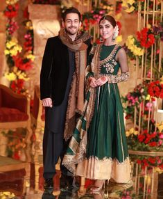 Starbuzz is the platform that provides all these latest Pakistani celebrities news and share latest Pakistani showbiz news. Pakistani Party Wear Dresses, Shadi Dresses, Pakistani Wedding Outfits, Pakistani Dress Design, Indian Dresses, Indian Outfits, Indian Clothes, Indian Wedding Gowns, Wedding Dresses