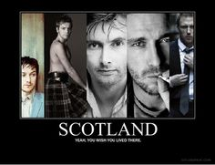 Biggest draw to Scotland? Kilt-y men!