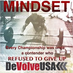 Check out www.facebook.com/DeVolveUSA for more great workouts and motivation!