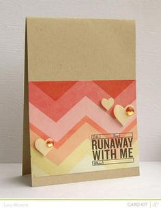 Runaway With Me *Roundabout Card Kit Only* by LucyAbrams at Studio Calico