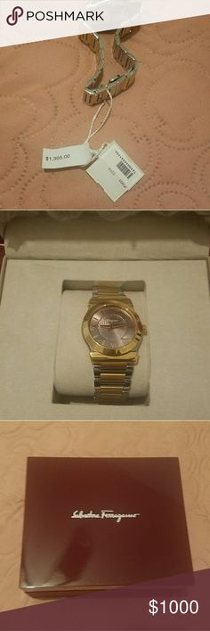 Watch Men's watch ... It's new Salvatore Ferragamo Other