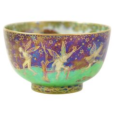 Wedgwood Fairyland Lustre Bowl | 1stdibs.com  I have only seen this once before and item sold for over $4,000.00 US !