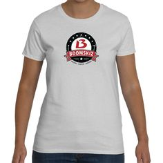BOOMSKIZ™ Vintage Crest Ladies Classic Fit T-Shirts - 7 colors
