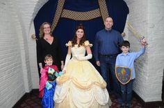 Akershus with Belle  #AkershusBanquetHall #DisneyPrincess #Epcot #DisneyWorld #Belle