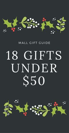 Mall Gift Guide