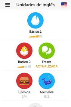 I like the style here for the badges pathway - Duolingo