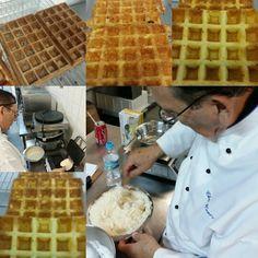 Curso de waffles belga #henriscreperia # cursodewaffle
