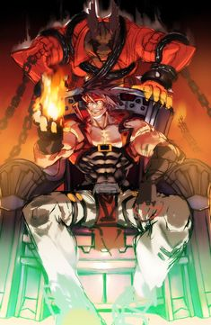 See more 'Guilty Gear' images on Know Your Meme! Manga Art, Anime Art, Character Concept, Character Design, Guilty Gear Xrd, Gear Art, Whale Art, King Of Fighters, Fighting Games