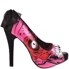 Gold Digger Zombie Stomper Platform - Pink by Iron Fist
