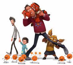naranjas y zapatos: Samain / Halloween