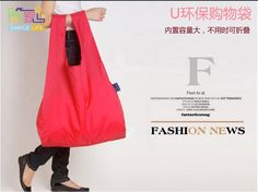 Free Shipping 2014 Hot sale Fashion Eco Reusable Shopping Bag Foldable Waterproof Nylon Grocery Tote [10-0418]