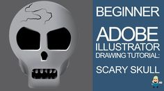 Learn some of the simple drawing a shading techniques in Adobe Illustrator by drawing this scary skull.