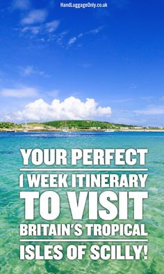 A 1 Week Travel Itinerary For Visiting The Isles Of Scilly – The UK's Tropical Islands Cool Places To Visit, Places To Travel, Scilly Island, Visit Britain, Travel Advice, Travel Plan, Travel Ideas, Travel Uk, Travel Packing