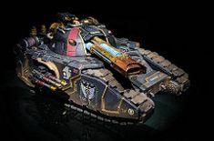 Pre-Heresy Dark Angels Glaive super-heavy tank