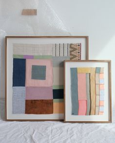 Quilting Projects, Art Projects, Sewing Projects, Design Textile, Textile Art, Textiles, Fabric Art, Framed Fabric, Embroidery Art