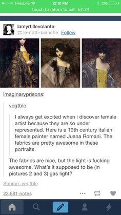 Female painter of awesome >> italian juana romani History Facts, Art History, History Memes, Modern History, History Projects, History Museum, History Major, History Timeline, History Books