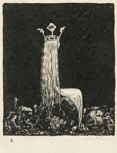 John Bauer Swedish Fairytales Goblin Fantasy Print 18