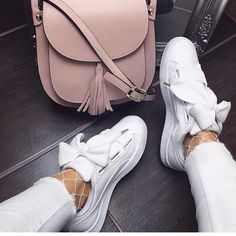 "115 Likes, 3 Comments - R B O N L I N E . C O M (@rufflesbexleyofficial) on Instagram: ""Tie Me A Bow White Pumps """