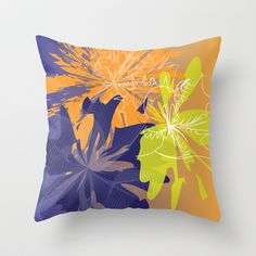Abstract 136 Throw Pillow cover by Ramon Martinez Jr - $20.00