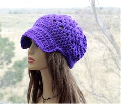 Check out this item in my Etsy shop https://www.etsy.com/listing/524454443/slouchy-newsboy-hat-brim-slochy-hat