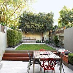 Aménagement De Jardin Contemporain  105 Idées Modernes En Photos | Gardens  And Backyard
