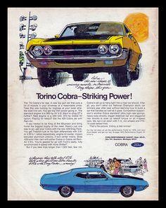 Ford Torino Cobra, 1970