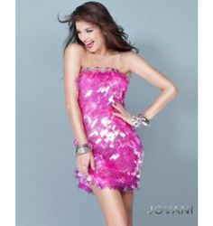 $300.00 Jovani Short Dress at http://viktoriasdresses.com/ Through John's Tailors