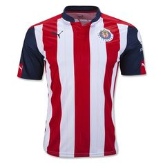 Chivas De Corazon? Shop THE NEW Puma Chivas Home Jersey 16/17 and wear it with Pride. Made with DRYCELL. Free shipping. Support Chivas on every match,