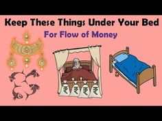 According to vastu shastra, keeping these things under your bed will enhance flow of money. Please check out the video to know which are those things.
