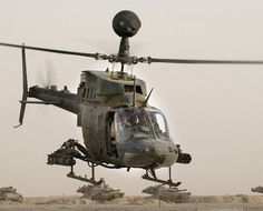 Helicóptero OH-58D Kiowa.