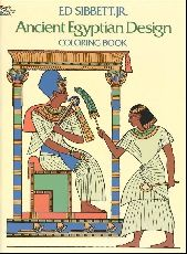 Ancient Egyptian Design Coloring Book