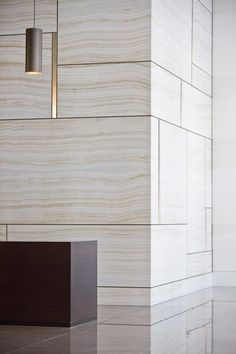 Travertine & Metal Profile