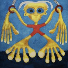Hanger/Maarit Korhonen, acrylic, oilsticks, canvas, 65cm x 65cm Dark Paintings, Original Paintings, Online Painting, Artwork Online, Canvas Hangers, Dancer In The Dark, Autumn Painting, Original Art For Sale, House Painting