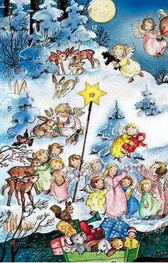 Little angel Advent calendar