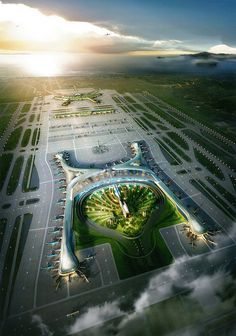 Incheon international airport new terminal by Michael Kang2010, via Flickr